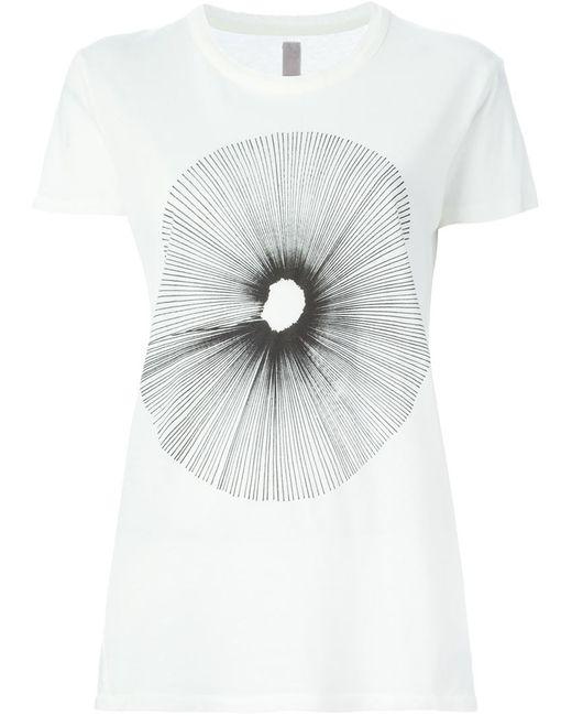 Silent Damir Doma | Женское Белый Talis Printed T-Shirt