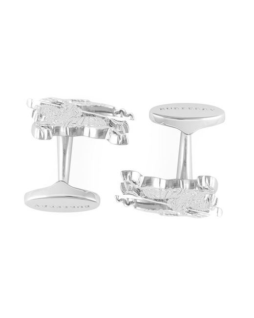 Burberry | Мужское Серебристый Equestrian Knight Cufflinks