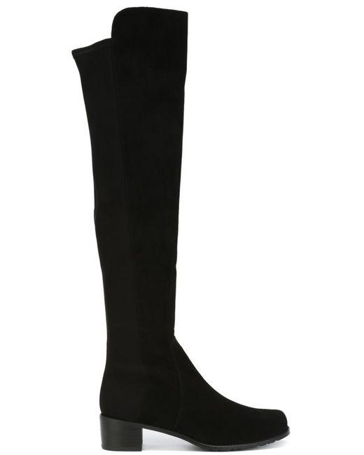 Stuart Weitzman   Женское Чёрный Reserve Boots
