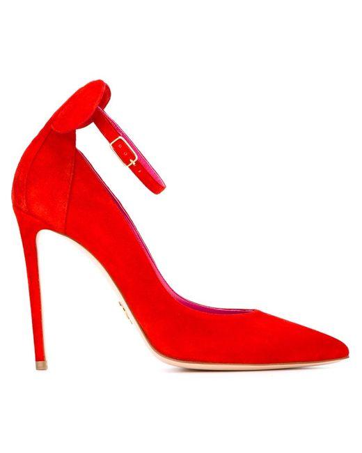 Oscar Tiye | Женские Красные Туфли Minnie