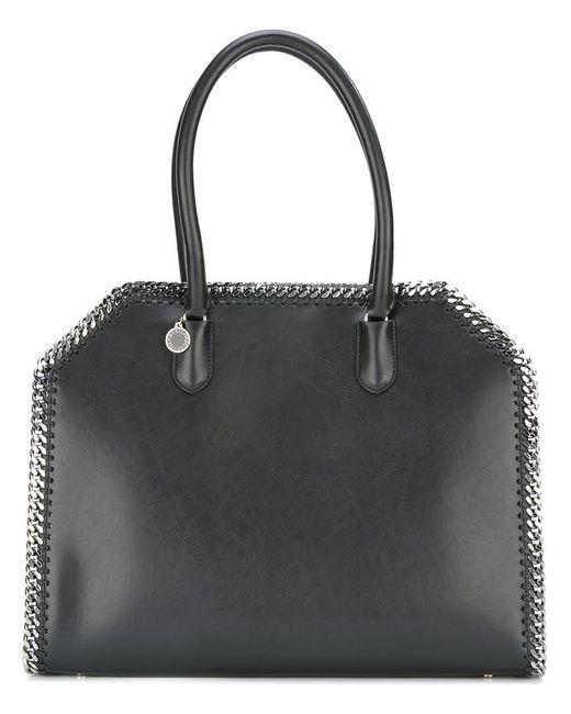 Stella Mccartney   Женское Чёрный Falabella Box East West Tote Bag Artificial