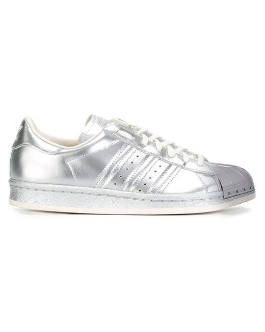 adidas Originals | Женское Серебристый Superstar 80s Sneakers