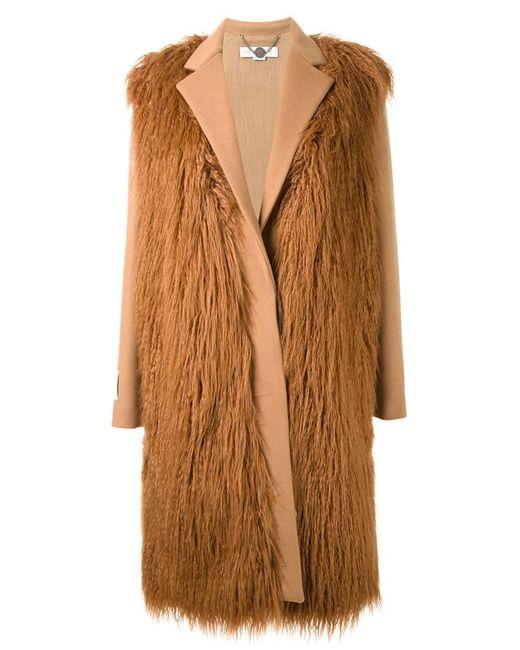 Stella Mccartney | Женское Коричневый Lila Fur Free Coat