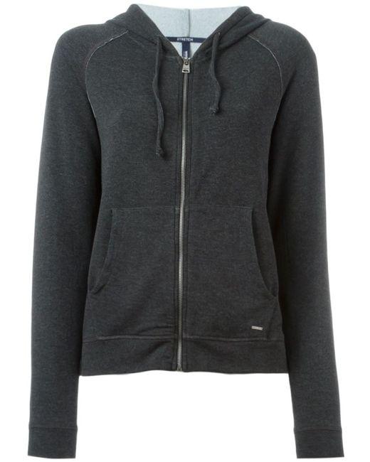 Woolrich | Женское Серый Zipped Hoodie