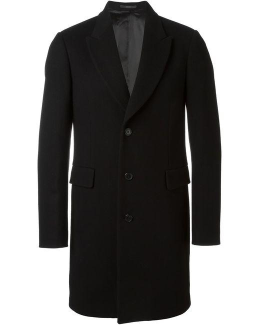 Paul Smith | Мужское Чёрное Однобортное Пальто