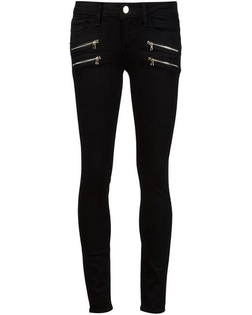 Paige | Женское Чёрный Edgemont Skinny Jeans