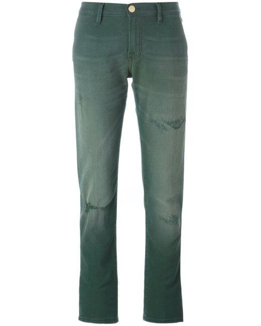 Don'T Cry | Женское Зелёный Distressed Boyfriend Jeans