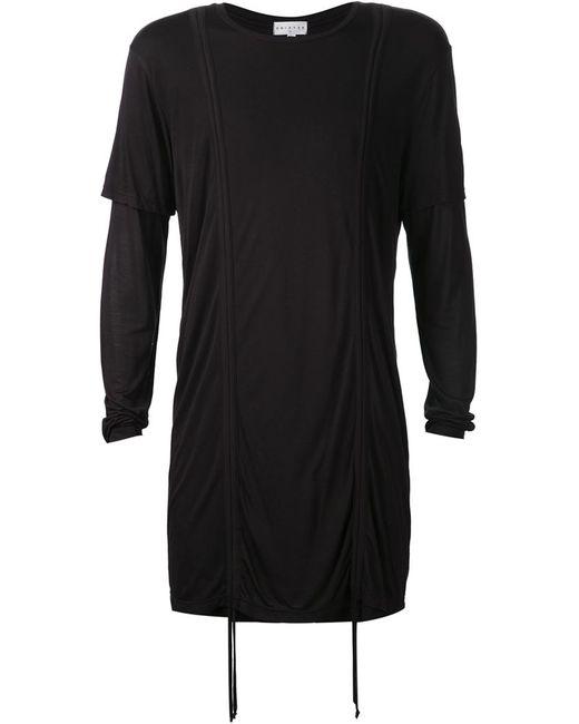 DRIFTER | Мужское Чёрный Dryden T-Shirt