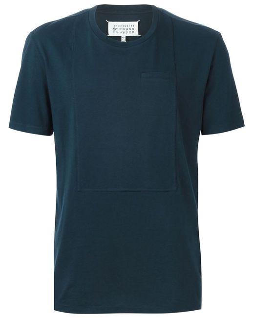 Maison Margiela | Мужское Синий Bib Panel T-Shirt