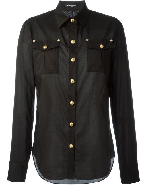 Balmain | Женское Чёрный Classic Shirt