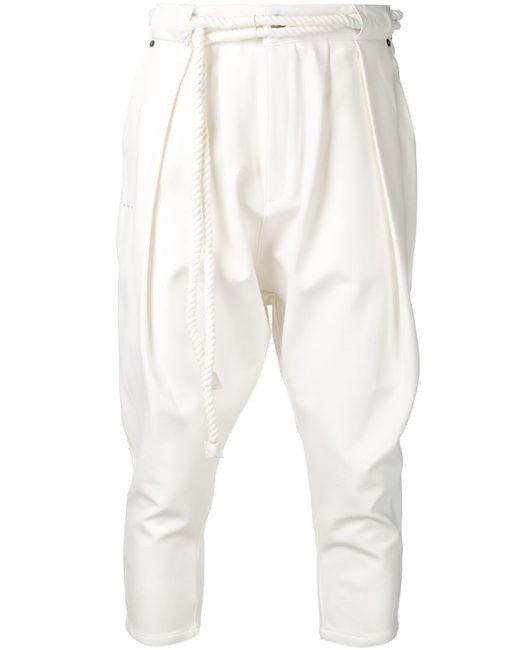 Publish | Мужское Белый Major Slash Trousers