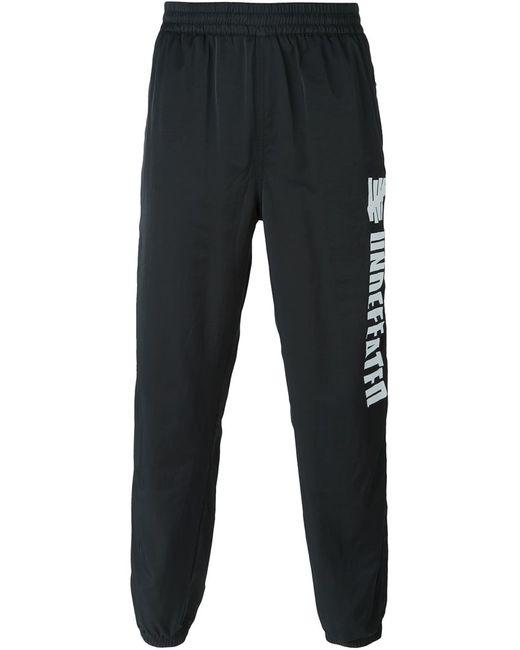 Undefeated | Мужское Чёрный Logo Print Track Pants