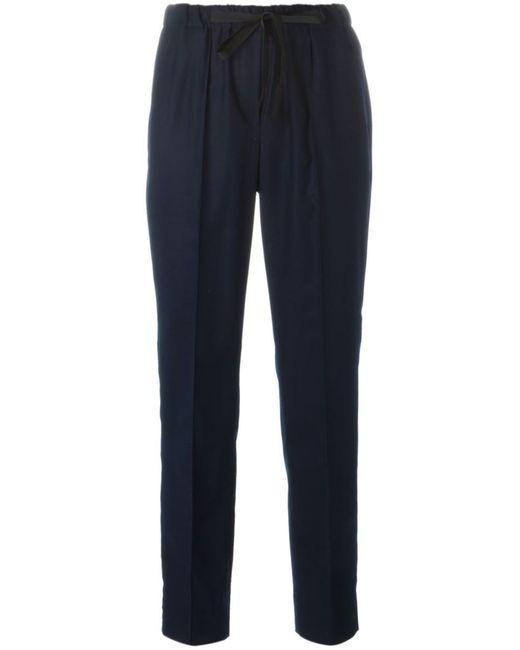 Incotex | Женское Синий Lace Fastening Tapered Trousers