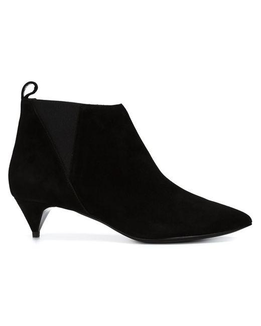 Pierre Hardy   Женские Чёрные Ботинки По Щиколотку