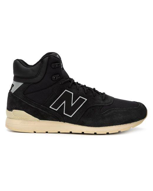 New Balance   Мужское Чёрный Hi-Top Sneakers