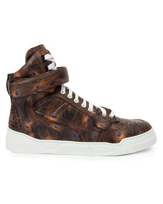 Givenchy   Женское Чёрный Tyson Hi-Top Sneakers