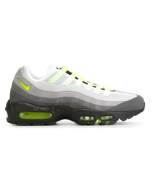 Nike   Мужские Серые Кроссовки Air Max 95
