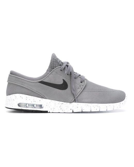 Nike   Мужские Серые Кроссовки Stefan Janoski Max