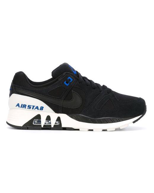 Nike   Мужские Чёрные Кроссовки Air Stab