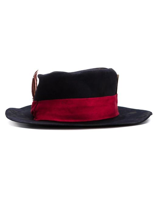 NICK FOUQUET   Женское Чёрный The Chariot Hat