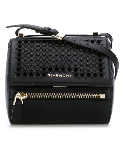 Givenchy | Женское Чёрный Mini Pandora Box Shoulder Bag