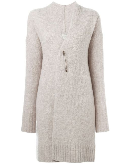 Forte Forte | Женское Nude & Neutrals Safety Pin Fastening Cardi-Coat