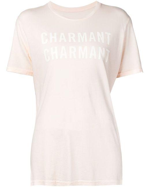 Clare Vivier | Женская Nude & Neutrals Футболка Charmant Charmant