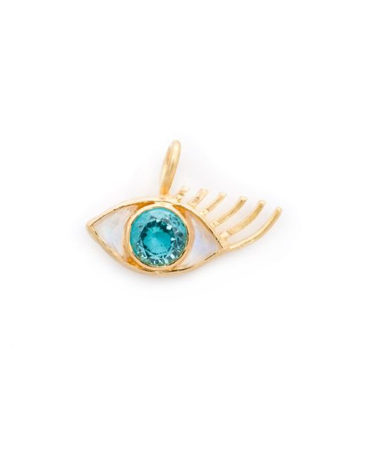 MARIE HELENE DE TAILLAC | Женское Серебристый 22kt Moonstone Eye Pendant