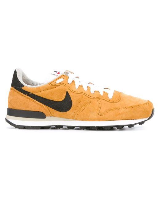 Nike   Мужские Жёлтые Кроссовки Internationalist