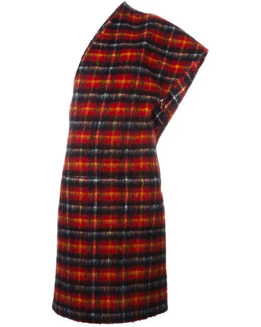JEAN PAUL GAULTIER VINTAGE | Женское Красное Платье В Клетку
