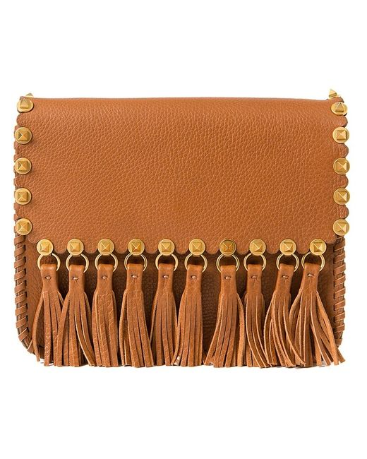 Valentino Garavani | Женское Коричневый C-Rockee Shoulder Bag