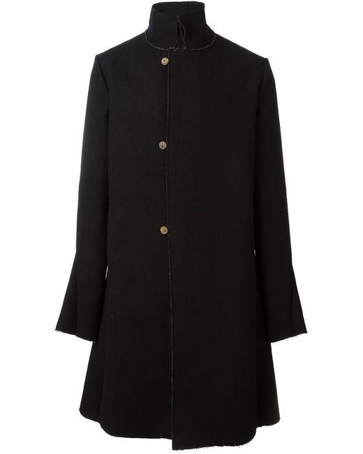 A DICIANNOVEVENTITRE | Мужское Чёрный Stand Up Collar Coat