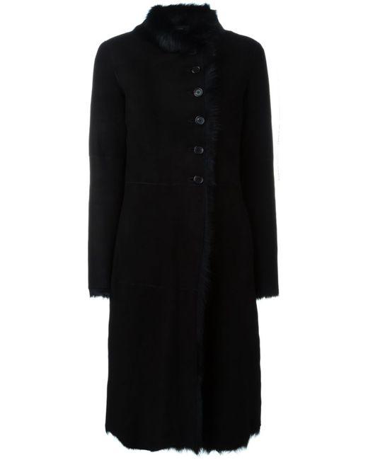 Joseph | Женское Чёрное Пальто Из Овчины