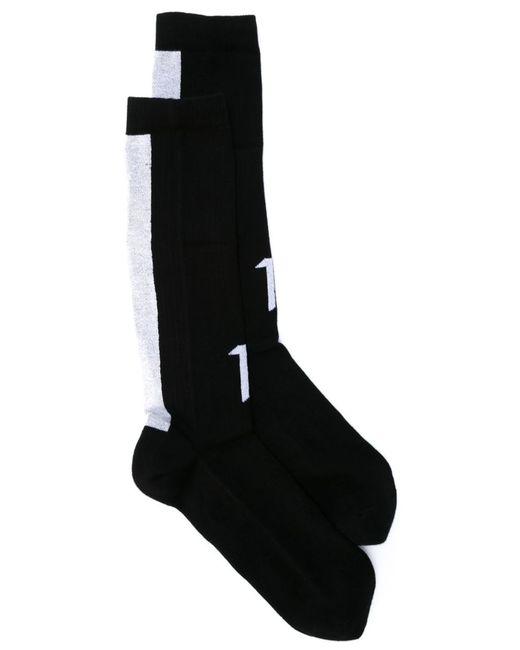 11 BY BORIS BIDJAN SABERI | Мужские Чёрные Носки С Логотипом