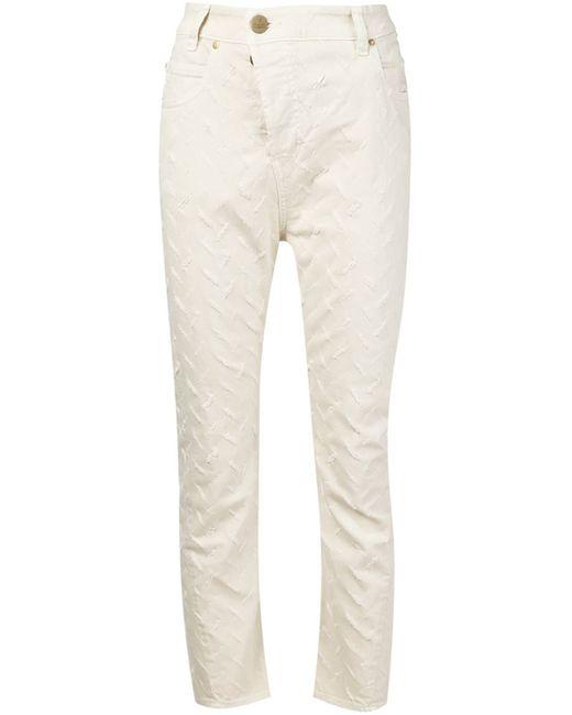 Vivienne Westwood Anglomania | Женское Белый Ripped Boyfriend Jeans