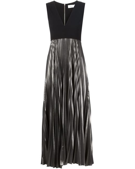 A.L.C. | Женское Чёрный Emilia Pleated Dress