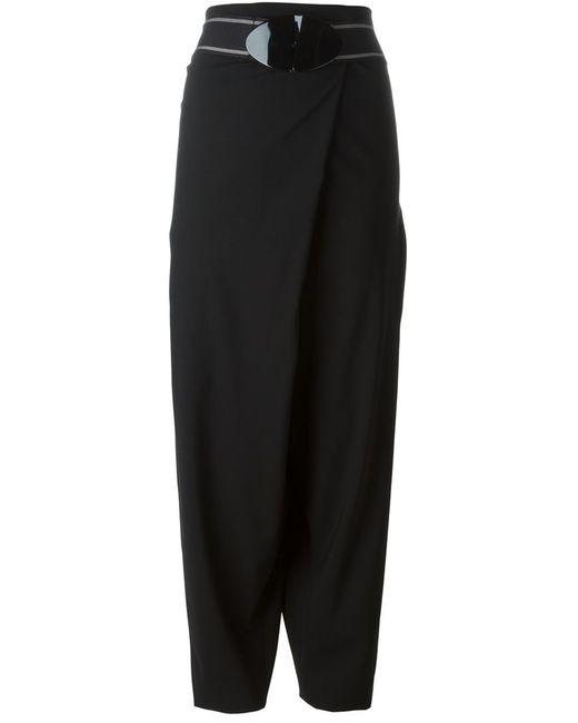 Erika Cavallini   Женское Чёрный Drop Crotch Trousers
