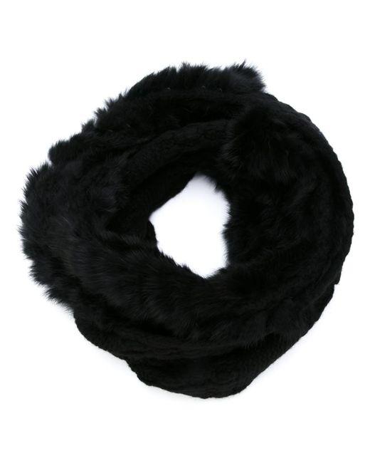 Diane Von Furstenberg   Женское Чёрный Rabbit Fur Snood