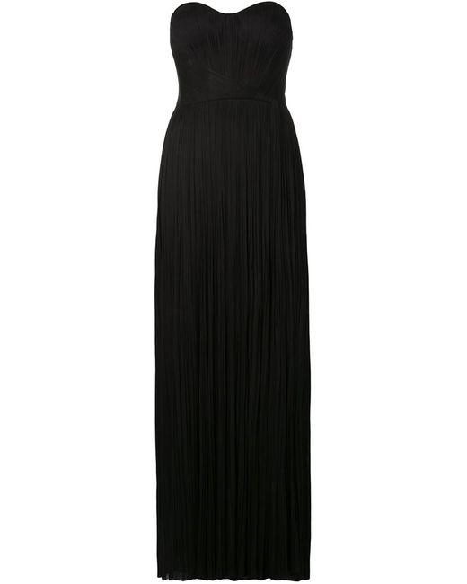 Maria Lucia Hohan   Женское Чёрный Strapless Bustier Evening Dress