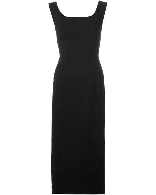 Antonio Marras | Женское Чёрное Платье С V-Образным Вырезом На Спине