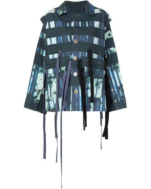 PETRA PTACKOVA | Женская Многоцветная Куртка С Полосатым Принтом