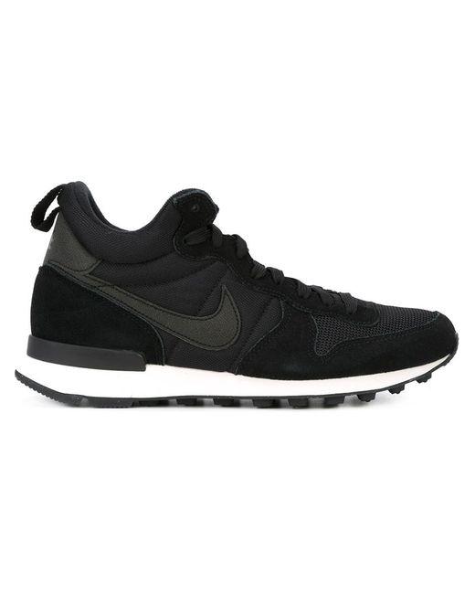 Nike | Женские Чёрные Кроссовки Internationalist