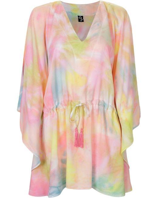SKINBIQUINI | Женское Многоцветный Abstract Print Beach Dress