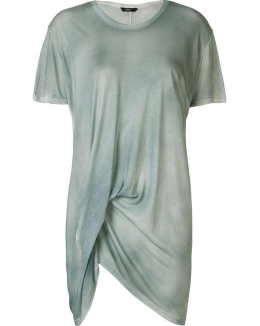 Uma | Женское Синий Asymmetric Draped T-Shirt
