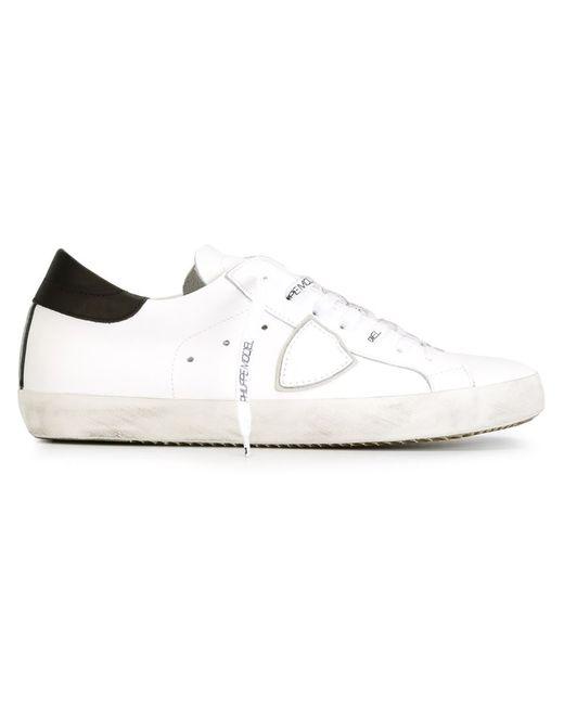 Philippe Model   Мужские Белые Кроссовки Classic