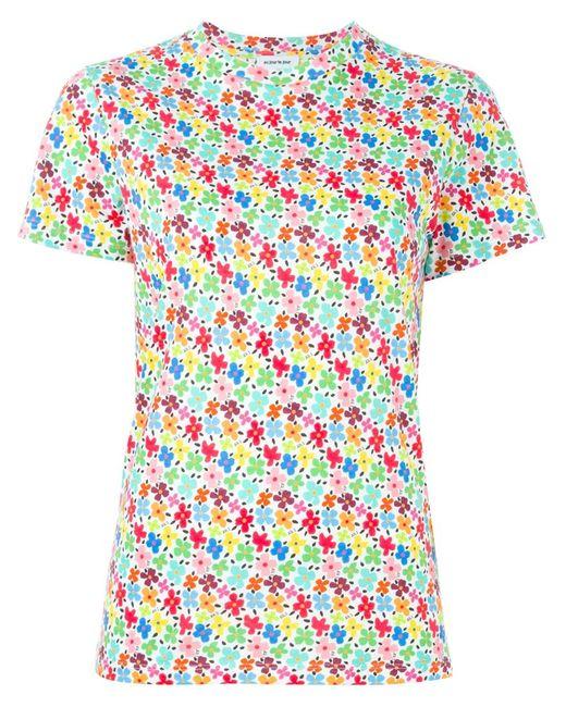 Au Jour Le Jour | Женское Многоцветный Print T-Shirt
