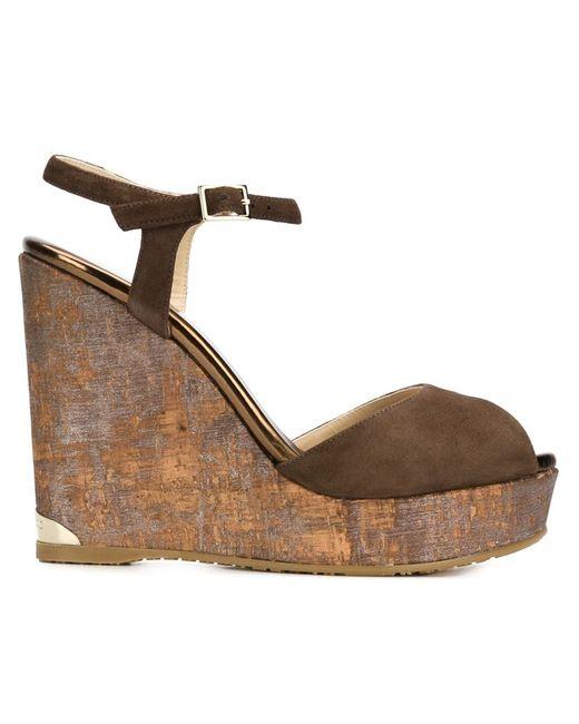 Jimmy Choo | Женское Коричневый Perla 120 Sandals