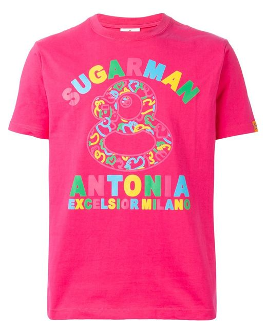 Excelsior x Expo | Мужская Розовая Футболка С Принтом Sugarman