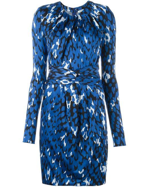 ISSA | Женское Синее Платье Morgana