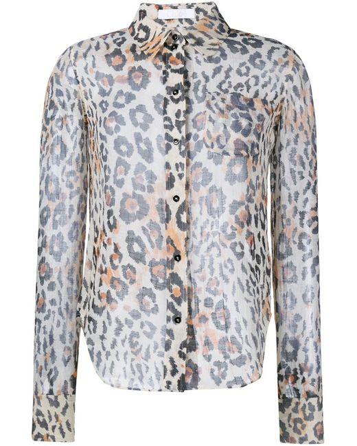 Chloe | Женское Коричневый Leopard Print Shirt